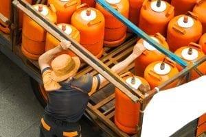 Precio bombona butano Repsol en gasolinera
