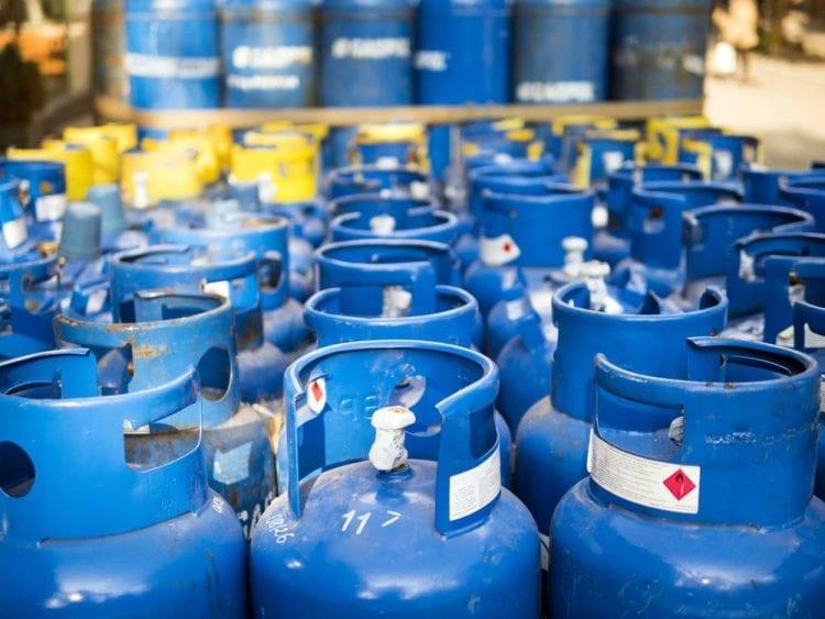 Gas propano precio