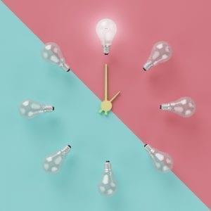 Precio de la luz por horas