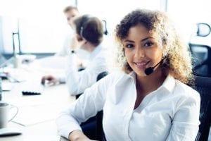 teleoperadora atención al cliente