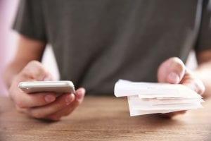 telefono y facturas