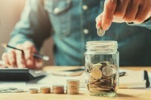 ahorro monedas