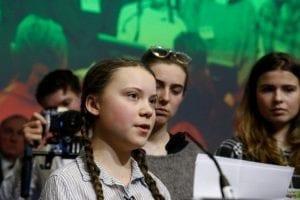 Greta Thunberg cumbre clima