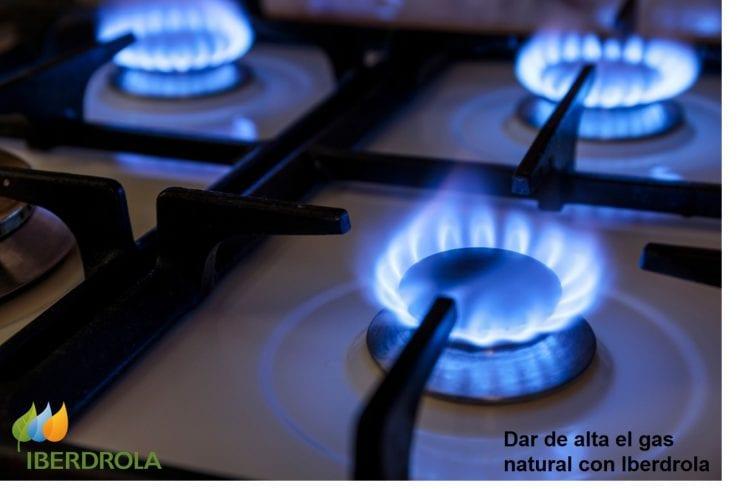 Dar de alta el gas Iberdrola