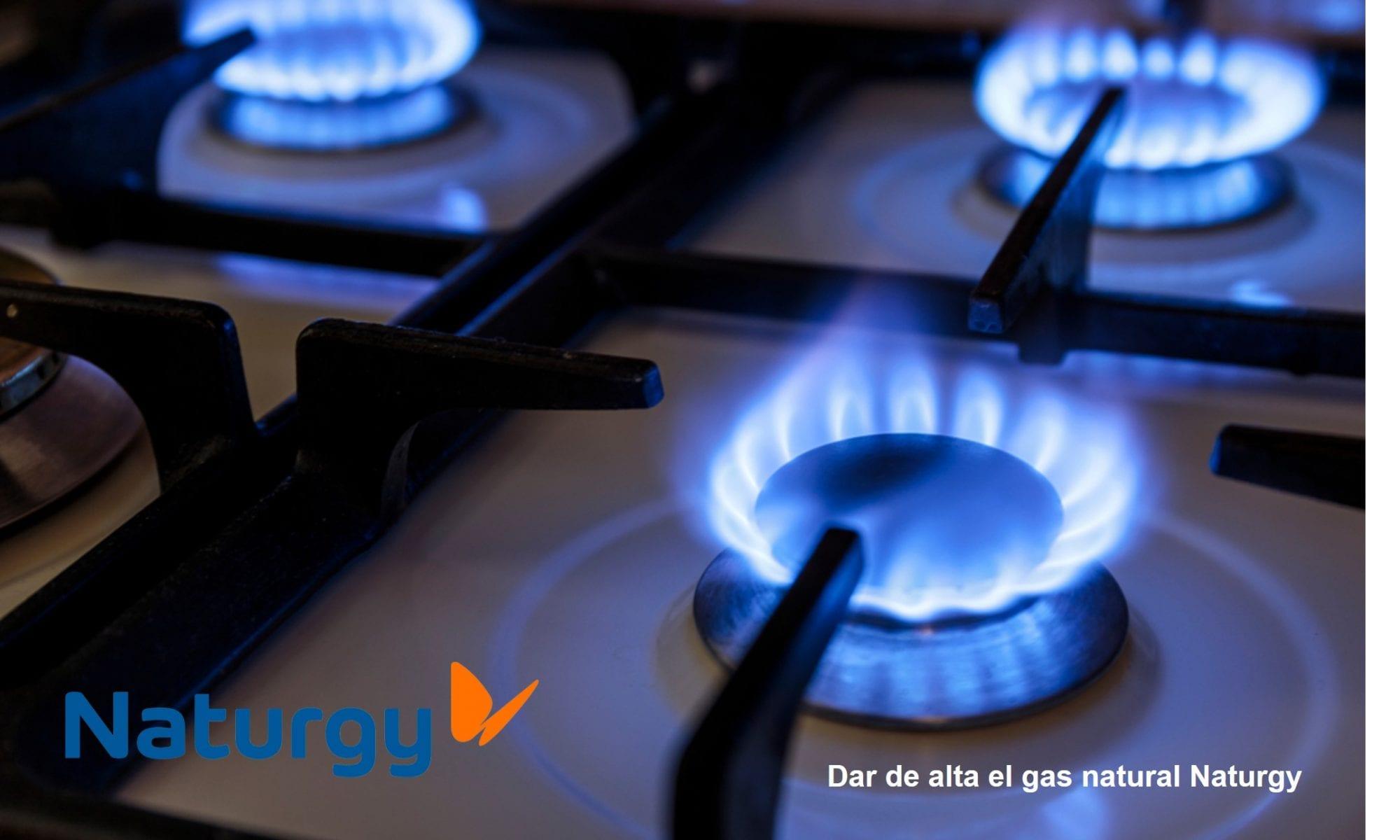 dar de alta el gas natural Naturgy