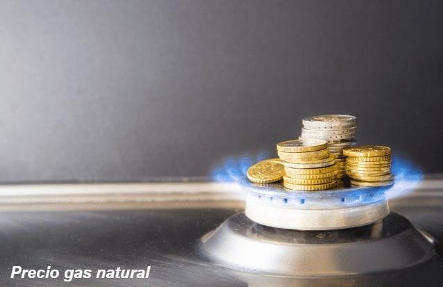 precio gas natural